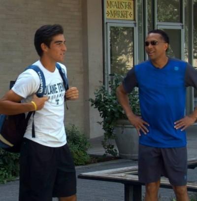 Inside -College- Tennis